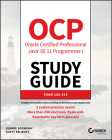 Ocp Oracle Certified Professional Java Se 11 Programmer I Study Guide: Exam 1z0-815 Cover Image