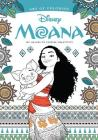 Art of Coloring: Moana: 100 Images to Inspire Creativity Cover Image