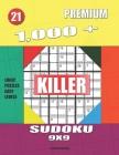 1,000 + Premium sudoku killer 9x9: Logic puzzles easy levels Cover Image