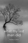 What My Last Man Did (Blue Light Books) Cover Image