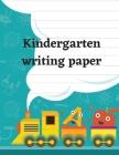 Kindergarten writing paper Cover Image