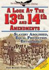 A Look at the Thirteenth and Fourteenth Amendments: Slavery Abolished, Equal Protection Established (Constitution of the United States) Cover Image