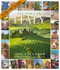 365 Days in Italy Picture-A-Day Wall Calendar 2020 Cover Image