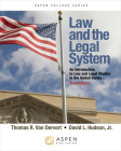 Law and the Legal System: An Introduction to Law and Legal Studies in the United States (Aspen College) Cover Image