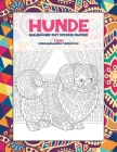 Malbücher mit dickem Papier - Stressabbauende Tiermotive - Tiere - Hunde Cover Image