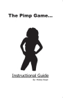 The Pimp Game: Instructional Guide Cover Image