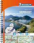 Michelin Germany/Austria/Benelux/Switzerland Road Atlas (Michelin Road Atlas Germany) Cover Image