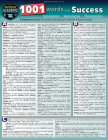 1001 Words for Success - Synonyms, Antonyms & Homonyms: A Quickstudy Laminated Reference Guide Cover Image