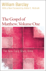 The Gospel of Matthew, Volume 1 (New Daily Study Bible) Cover Image