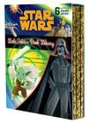 The Star Wars Little Golden Book Library (Star Wars): The Phantom Menace; Attack of the Clones; Revenge of the Sith; A New Hope; The Empire Strikes Back; Return of the Jedi Cover Image