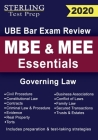 Sterling Test Prep MBE & MEE Essentials: Governing Law for UBE Bar Exam Review Cover Image