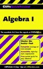 CliffsQuickReview Algebra I Cover Image