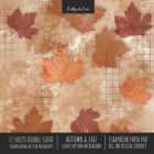 Autumn Fall Scrapbook Paper Pad 8x8 Decorative Scrapbooking Kit for Cardmaking Gifts, DIY Crafts, Printmaking, Papercrafts, Leaves Pattern Designer Pa Cover Image
