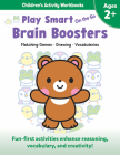 Play Smart on the Go Brain Boosters Ages 2+: Matching Games, Drawing, Vocabularies Cover Image