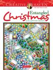 Creative Haven Entangled Christmas Coloring Book (Creative Haven Coloring Books) Cover Image