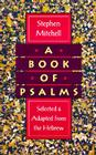 A Book of Psalms: Selected and Adapted from the Hebrew Cover Image