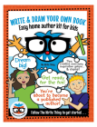 Write & Draw Your Own Book: Easy Home Author Kit for Kids Cover Image