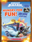 Hungry for Fun! (Hungry Shark: Activity Book with Shark Tooth Necklace): Jaw-Some Activity Book Cover Image