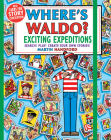 Where's Waldo? Exciting Expeditions: Play! Search! Create Your Own Stories! Cover Image