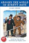 Around the World in Eighty Days (French Classics) Cover Image