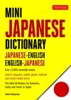 Mini Japanese Dictionary: Japanese-English, English-Japanese (Fully Romanized) (Tuttle Mini Dictionary) Cover Image