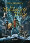 La Maldición del Titán. Novela Gráfica / The Titan's Curse: The Graphic Novel Cover Image