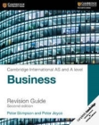 Cambridge International AS and A Level Business Revision Guide Cover Image