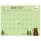 Cal 2022- Monthly Theme Academic Year Desk Pad Cover Image