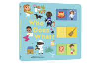 Who Does What?: A Slide-and-Learn Book Cover Image