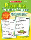 Phonics Poetry Pages: 50 Fill-in-the-Blank Practice Pages That Help Kids Master Essential Phonics Skills for Reading Success Cover Image