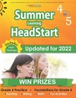 Summer Learning HeadStart, Grade 4 to 5: Fun Activities Plus Math, Reading, and Language Workbooks: Bridge to Success with Common Core Aligned Resourc Cover Image
