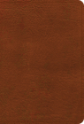 NASB Large Print Compact Reference Bible, Burnt Sienna Leathertouch Cover Image