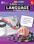 180 Days of Language for Fifth Grade (180 Days of Practice) Cover Image