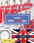 City Sketch Coloring Book: London Sketchbook for Adult Coloring Activity Book Cover Image
