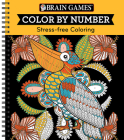 Brain Games - Color by Number: Stress-Free Coloring (Orange) Cover Image