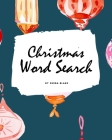 Christmas Word Search Puzzle Book - Hard Level (8x10 Puzzle Book / Activity Book) Cover Image