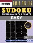 SUDOKU Easy: Jumbo 300 easy SUDOKU with answers Brain Puzzles Books for Beginners (sudoku book easy Vol.8) Cover Image