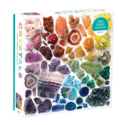 Rainbow Crystals 500 Piece Puzzle Cover Image