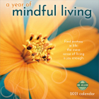 Year of Mindful Living 2021 Wall Calendar Cover Image