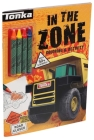 Tonka: In the Zone: Coloring & Activity (Coloring Books with Covermount) Cover Image