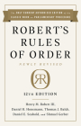 Robert's Rules of Order Newly Revised, 12th edition Cover Image