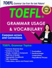 TOEFL common Grammar errors and Corrections: TOEFL Grammar Usage and Vocabulary, 200+ Grammar rules, phrases and idiom, Sentence & Clause, Simple-Comp Cover Image