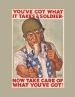 You've Got What It Takes Soldier: FY 2022 Daily 15-Month Planner For American Patroits Cover Image