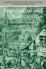 Population and Nutrition: An Essay on European Demographic History (Cambridge Studies in Population #14) Cover Image
