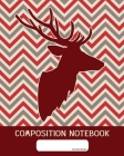 Composition Notebook: College Ruled - Dear On Geometric Pattern - Back to School Composition Book for Teachers, Students, Kids and Teens - 1 Cover Image