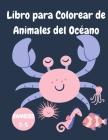 Libro para colorear de animales del océano Cover Image