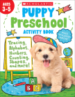 Puppy Preschool Activity Book Cover Image