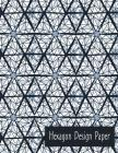 Hexagon Design Paper: English Paper Piecing Cover Image