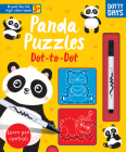 Panda Puzzles Dot-to-Dot (Pull-tab Wipe-clean Activity Books) Cover Image