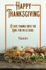 Happy Thanksgiving Bulletin (Pkg 100) Thanksgiving Cover Image